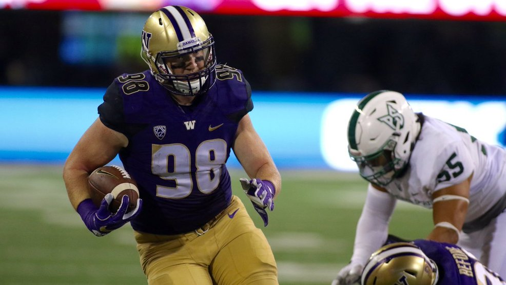 Tight ends key to UW offense success