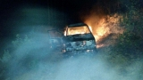 Vehicle catches fire while off-roading, no injuries reported