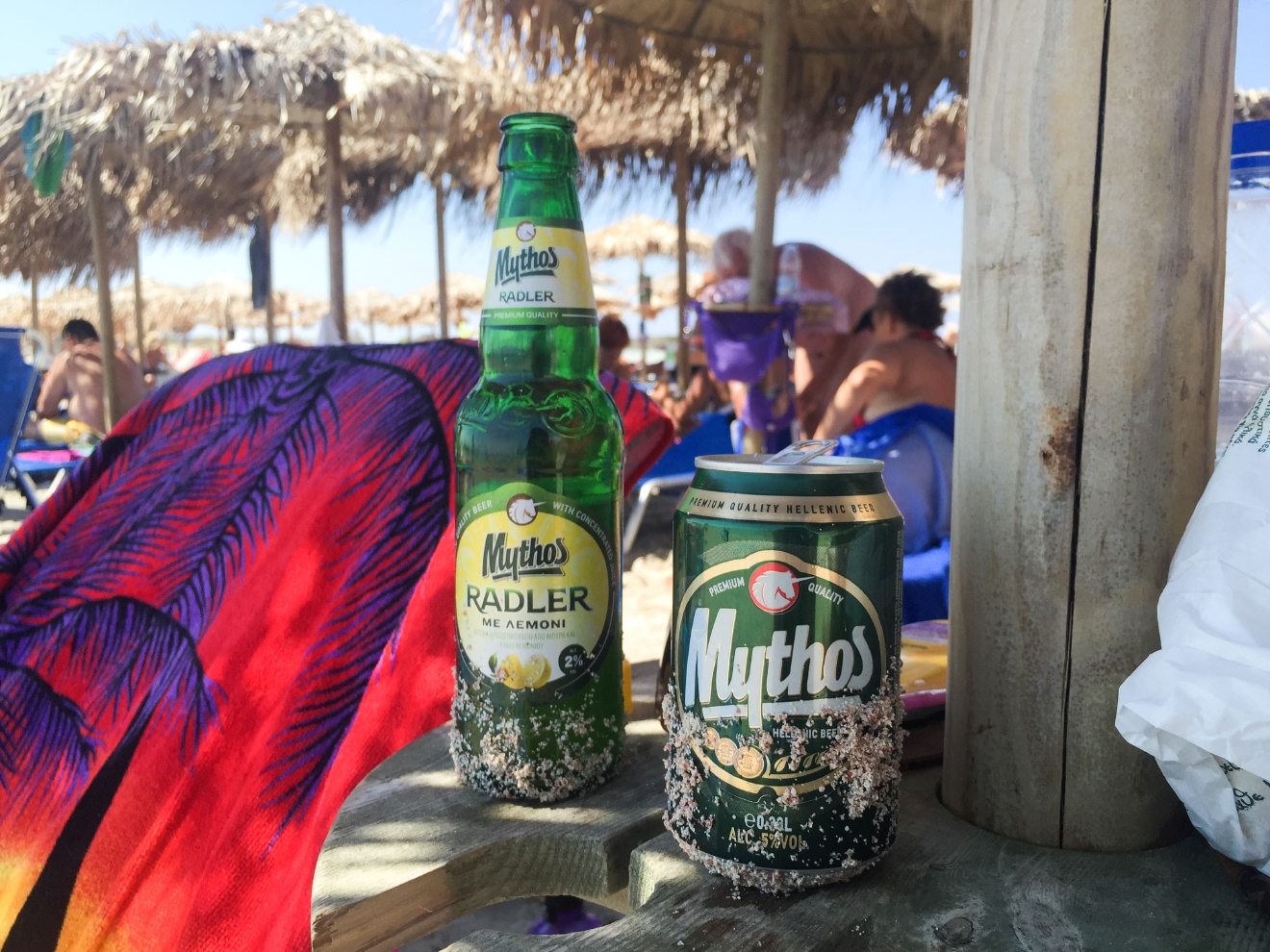 Mythos, a beer whose official mascot is a unicorn, is best enjoyed on the pink sands of Elafonisi.  It is widely held that one of the best ways to get to know a new place or culture is to indulge in its cuisine. I recently spend a few days in Athens and the Greek island of Crete, and I have to say - all the beach hopping makes a girl hungry! Eating my way to enlightenment is nothing I have a problem with. From moussaka to souvlaki, here's a little food diary from my Grecian vacation. (Image: Chona Kasinger / Seattle Refined)