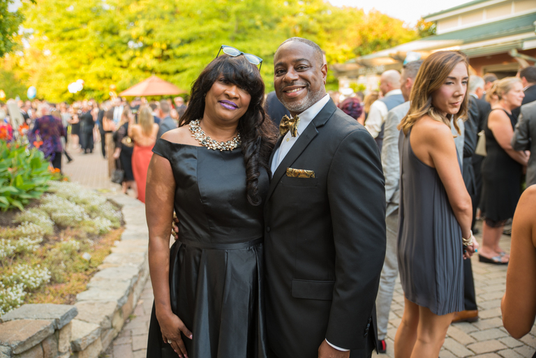 Michele and Nelson Broadus / Image: Sherry Lachelle Photography // Published: 9.16.17