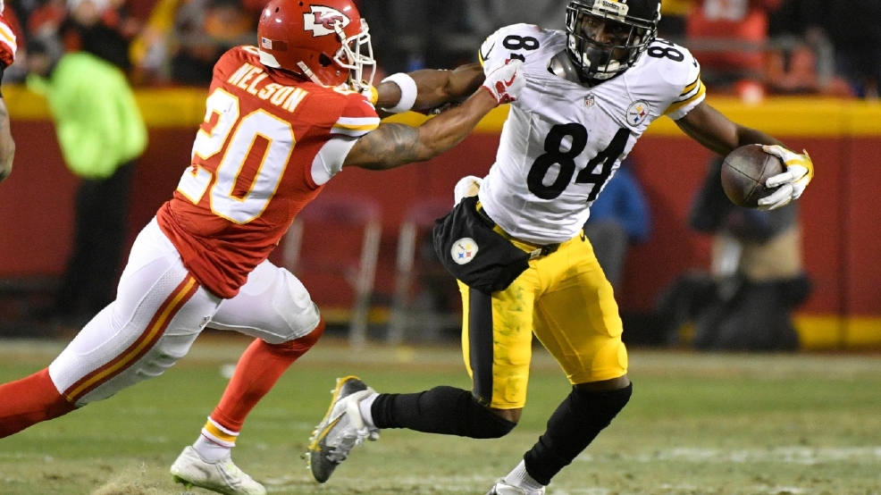 Steelers Wr Antonio Brown Apologizes For Livestreaming Video Whp