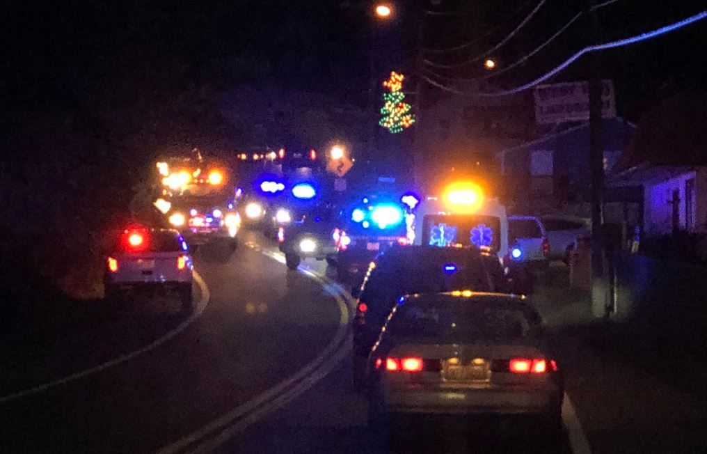 Metro 911 said one person is in custody after shots were fired Wednesday at a Pratt police cruiser. (WCHS/WVAH)