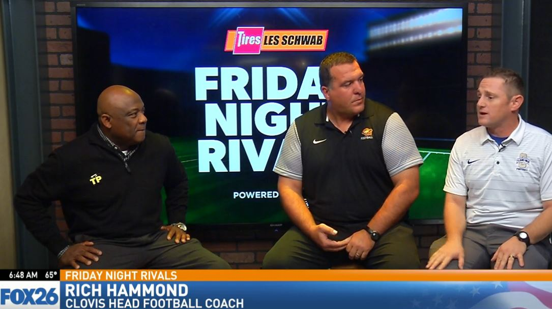 Clovis High head football coach Rich Hammond talking about what the Cougars keys to the game