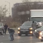 Raining money: Motorists nab cash spilled by armored truck on highway, causing crashes