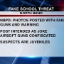 Police: Photo of boys with replica firearms on social media warned not to go to school