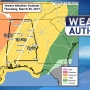 The Weather Authority: Severe storms possible later today, tonight