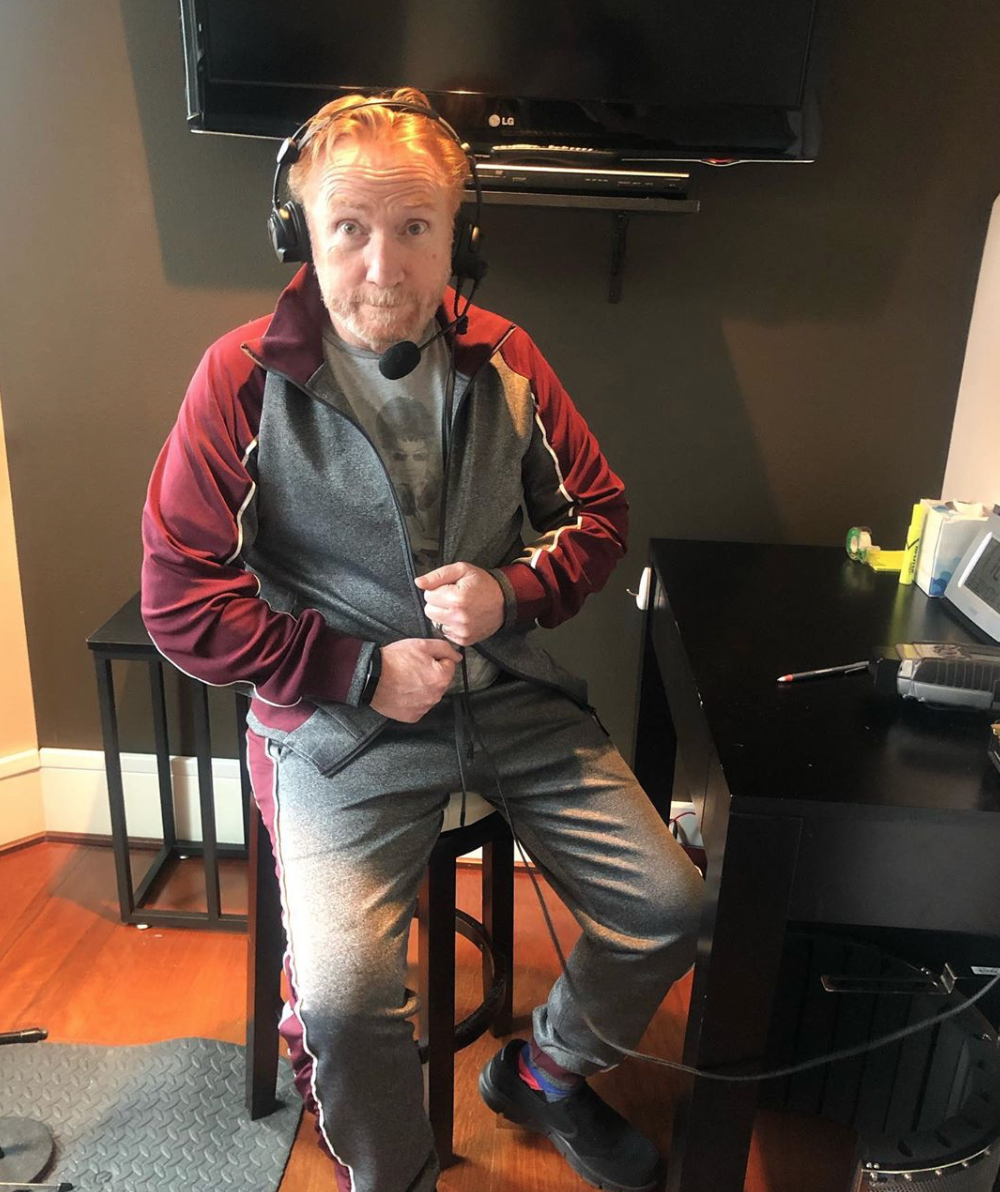 We're all working from home these days, including Seattle based DJ/actor/musician Danny Bonaduce. He became a bona fide star in the 1970's thanks to his role as wisecracking middle kid 'Danny Partridge' on the hit show 'The Partridge Family.' Since then, he's never slowed down! (Photo: Instagram/@dannykzok)<br><p></p>