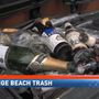 Spring Break leaves behind piles of trash on Gulf Coast beaches