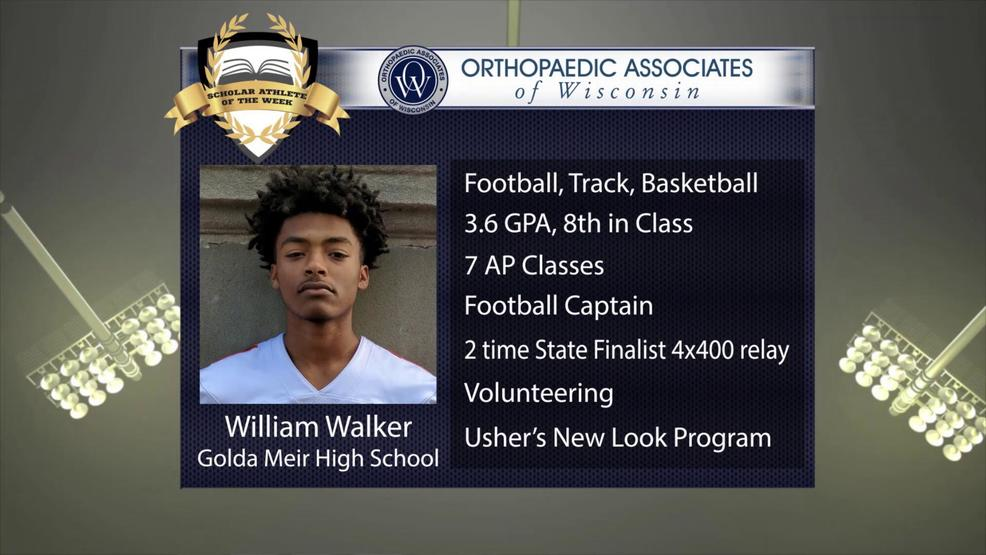 OAW 2017 Scholar Athlete Nominee: William Walker