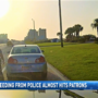 Wild video: Driver speeding from police nearly hits pedestrians outside Flora-Bama