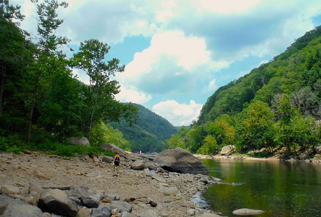 #6 - NEW RIVER GORGE, WEST VIRGINIA (Distance from Downtown Cincy: approx. 5 hours) / Image: Jen Seiser