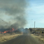 Crews working fire in Quay County near Tucumcari
