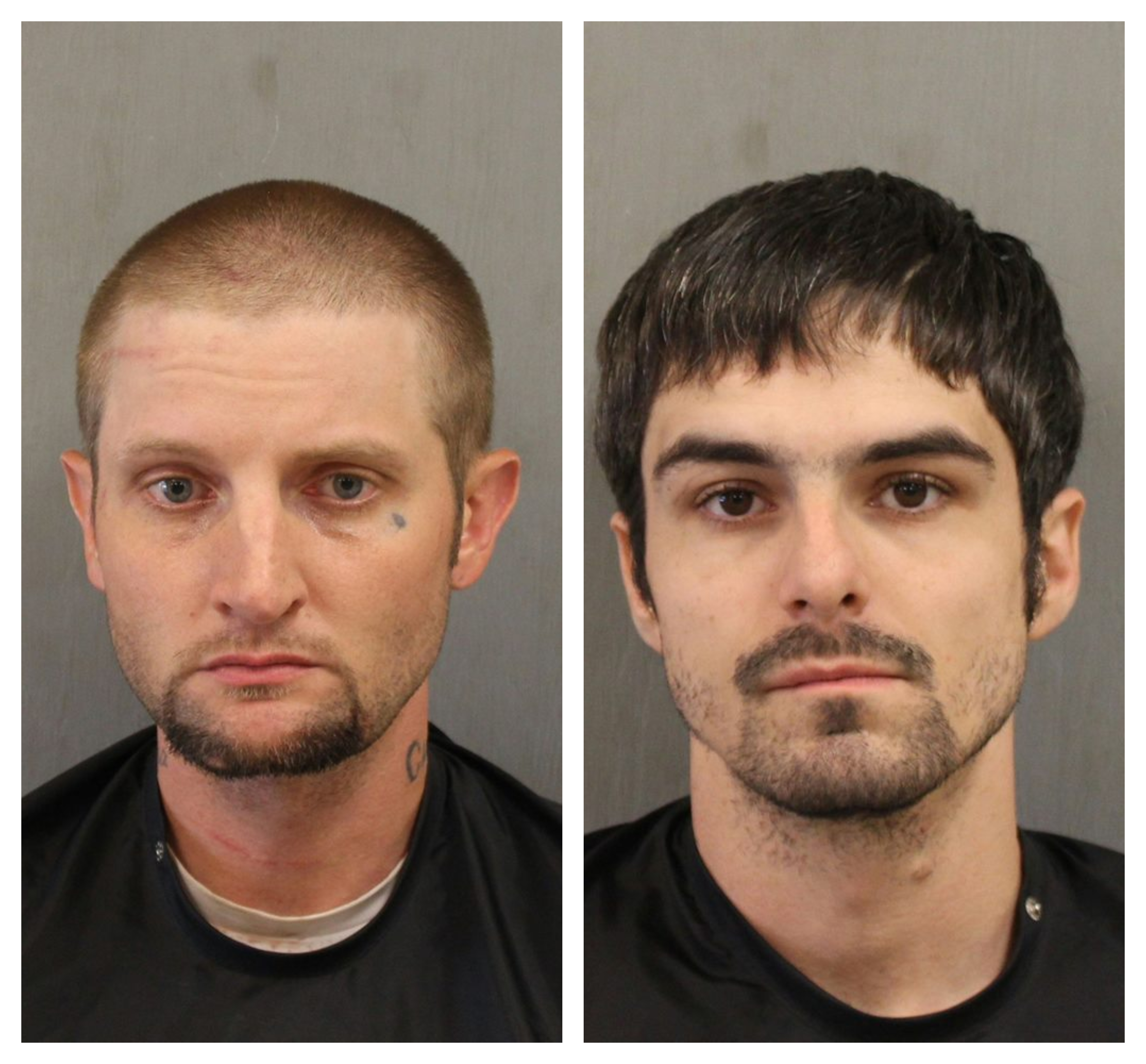 <p>Deputies say that 29-year-old Andrew William McManus and 30-year-old Andrew Lee Tuten were arrested Monday morning and charged with trafficking methamphetamine.</p>