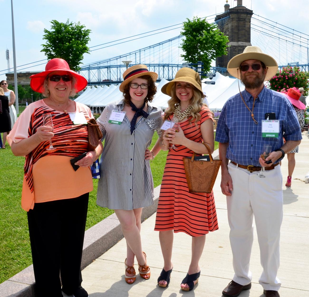 Joanne Smale, Emma Durham, Leah Morgan, and Jay Smale / Image: Leah Zipperstein, Cincinnati Refined // Published: 5.18.18
