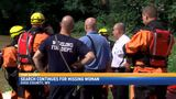 Search continues for missing woman after crash, flash flooding