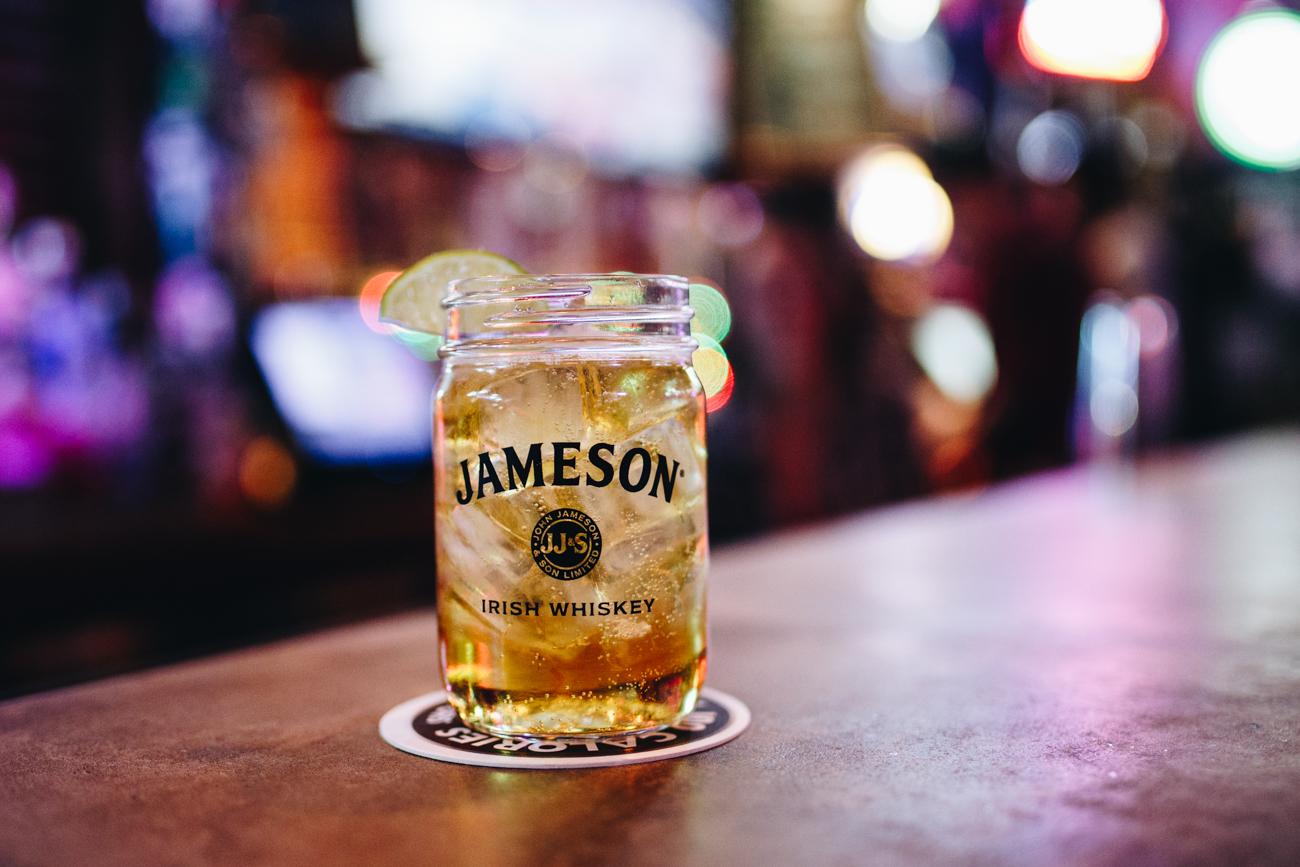 Jameson and ginger ale at Blind Pig{ }/ Image: Catherine Viox // Published: 11.22.18