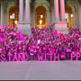 "Planned Parenthood supporters gather for ""Pink Out"""