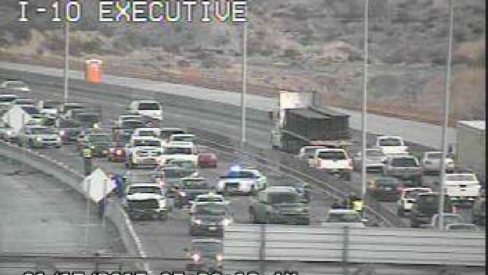 Gridlock on I10 due to crash eastbound at Executive | KFOX