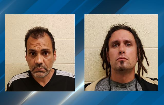 Two men were arrested earlier this week for drug possession and related charges in Wendover.{ } (Photo: The Wendover Police / Facebook)
