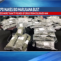 77 lbs. of marijuana seized in traffic stop