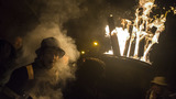 PHOTOS: Annual 'Burning of the Clavie' in Burghead, Scotland