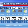 The Weather Authority: Stormy pattern through the weekend