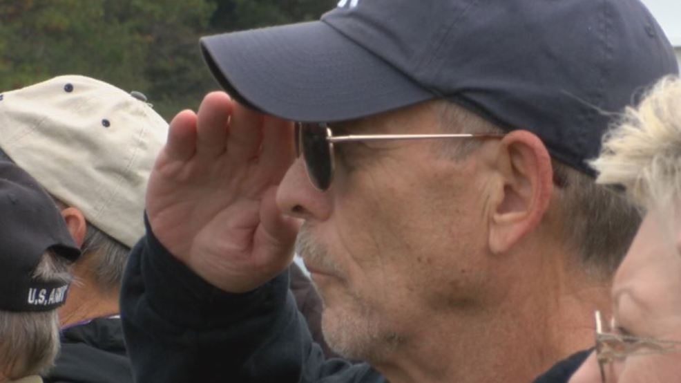 Veterans Day observed in ceremony at North Beach Memorial Gardens