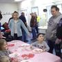Valentines with Riverton Police and dozens of local families