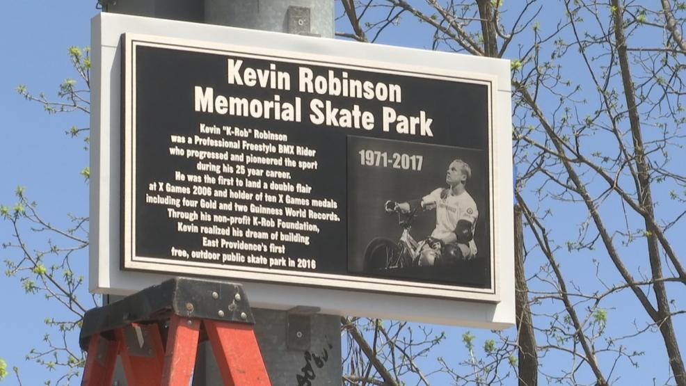 East Providence dedicates skate park to native son
