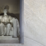 Man arrested for carving letters into Lincoln Memorial with a penny, police say
