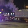 VIDEO: OKCFD crews battle semi fire in southwest metro