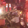 3 injured in fiery multi-car crash on New York Ave. in Northeast D.C., fire officials say