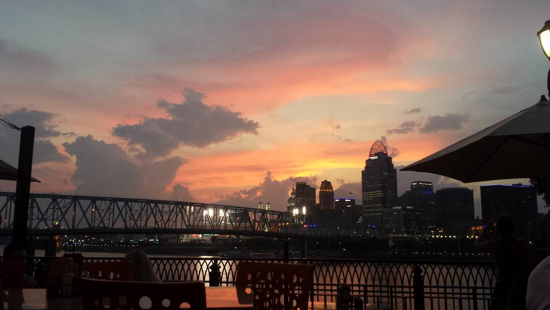 IMAGE: IG user @aj_megasaurus_rex / POST: #cincinnati on fire