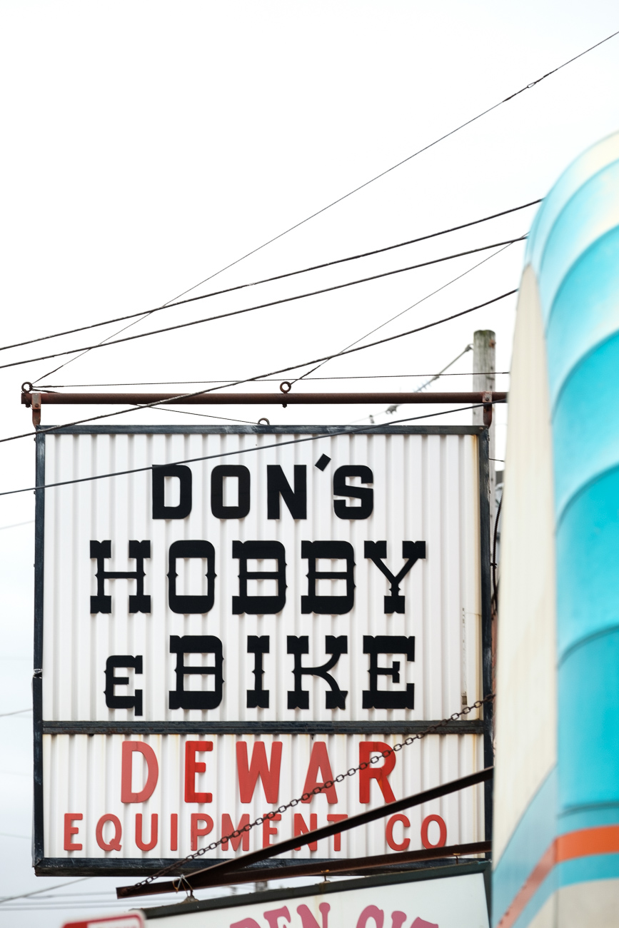 SIGN: Don's Hobby & Bike Shop / ADDRESS: 4915 Glenway Ave, Cincinnati, OH 45238 // Image: Daniel Smyth // Published: 2.18.17