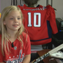 Washington Capitals' cutest fan, 'Puck Girl,' goes viral again after Game 4 celebration