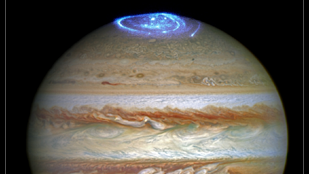 VIDEO | Hubble Telescope catches bright auroras on Jupiter