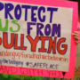 York High School students gather to protest bullying