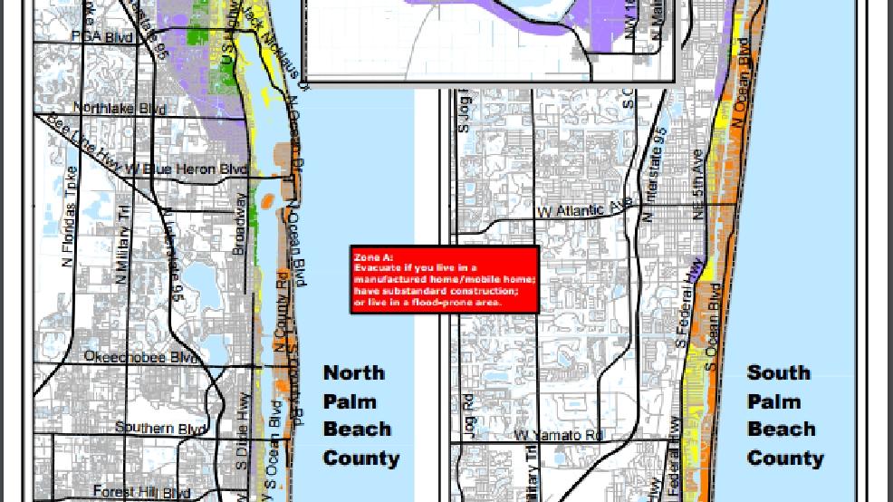 Hurricane Matthew Update From Palm Beach County Eoc Wpec