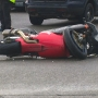 One person injured in crash involving motorcycle in South Seattle