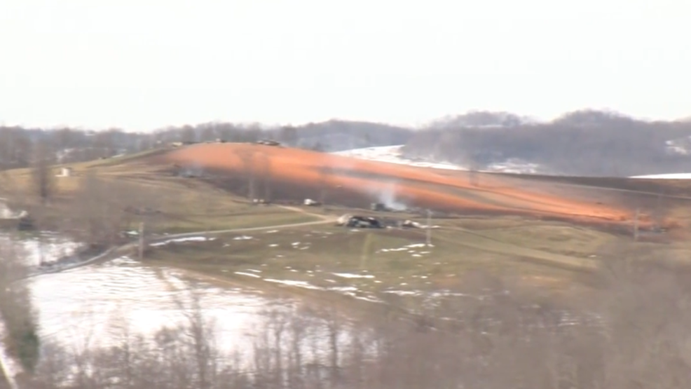 Officials still investigating gas pipe explosion in Noble County | WTOV