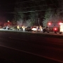 Head-on crash sends two to the hospital