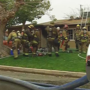 House fire displaces family of four in east Bakersfield