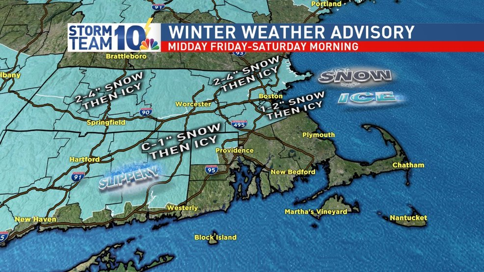 Winter Weather Advisory: Holiday weekend travel concerns