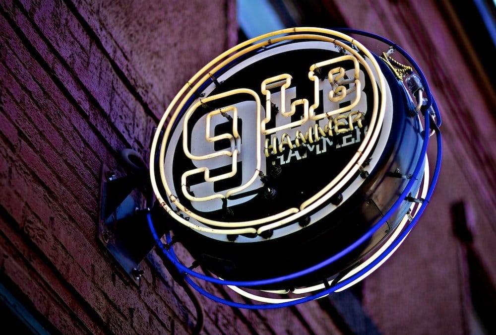 Also in the neighborhood, 9 LB Hammer is a Georgetown biker mainstay that slings great local beer ($4 Lucille during happy hour!), legit bar food and free peanuts. (Photo: Ivan N / Yelp)