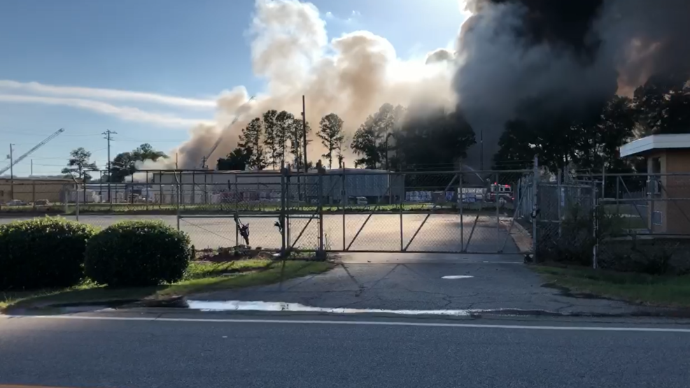 Fire chief: Crews likely to battle fire at south Macon warehouse all night