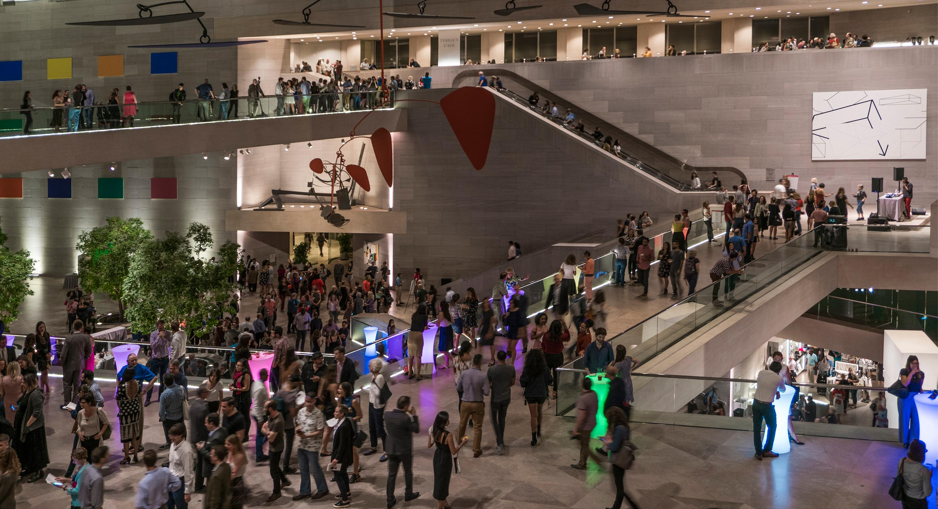 Celebrate the NGA East Building's 40th anniversary with Evenings at the Edge. (Image: Courtesy NGA)