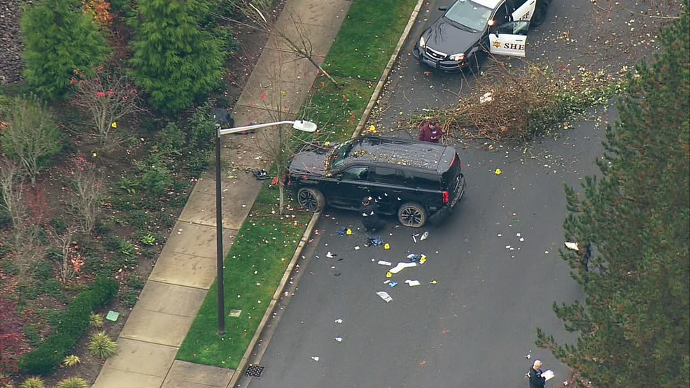 Two-county police chase ends with shots fired, suspect wounded in