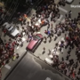 Charlottesville, Va.: Drone video shows chain reaction after a car plowed into pedestrians