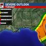 Another round of severe weather in the South