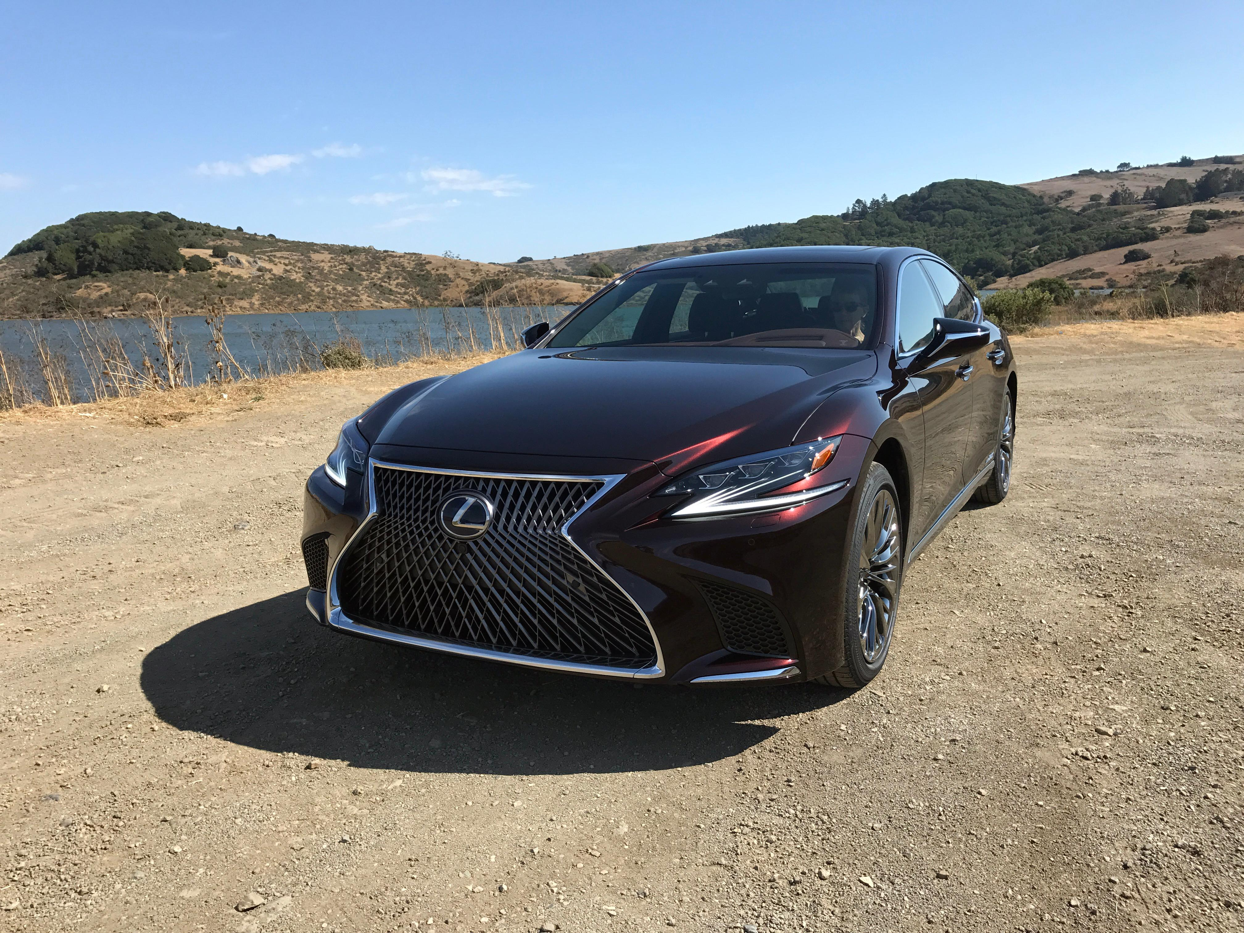2018 lexus sedan. contemporary sedan 2018 lexus ls 500h sinclair broadcast group  jill ciminillo to lexus sedan f